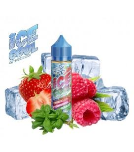 FRAISE FRAMBOISE BASILIC 50ML - Ice Cool Liquidarom