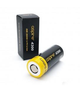 Accu 26650 Li-ion 4300 mAh 40A - ASPIRE